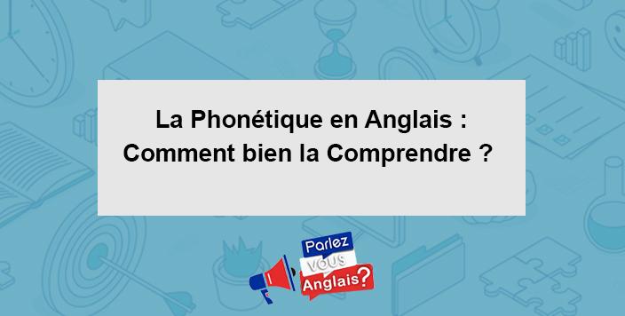 phonetique anglais cours