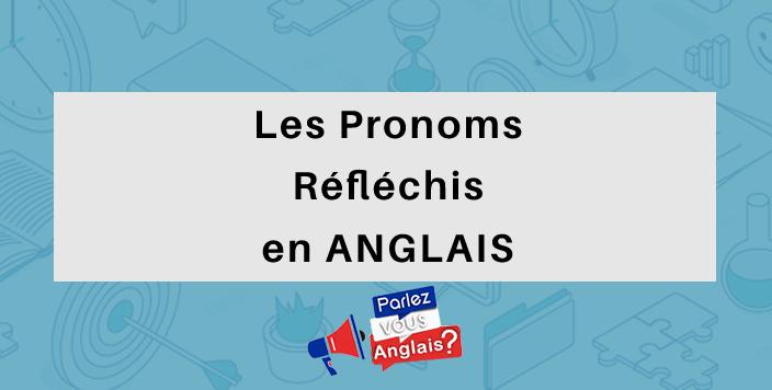 pronom reflechis anglais